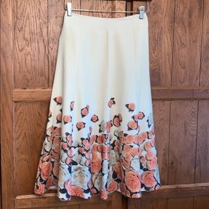 🌹PICOBELL Flair Skirt with Roses🌹